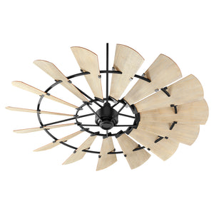 Windmill Ceiling Fan in Noir Finish 97215-69