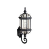 Barrie 1 Light Outdoor Wall Sconce in Black Finish by Kichler 9736BK