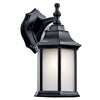 Chesapeake 1 Light Outdoor Wall Sconce in Black Finish by Kichler 9776BKS