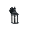 Chesapeake 1 Light Outdoor Wall Sconce in Black Finish by Kichler 9776BK