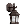 Townhouse 1 Light Outdoor Wall Sconce in Tannery Bronze Finish by Kichler 9788TZ