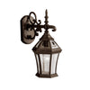 Townhouse 1 Light Outdoor Wall Sconce in Tannery Bronze Finish by Kichler 9789TZ
