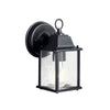 Barrie 1 Light Outdoor Wall Sconce in Black Finish by Kichler 9794BK