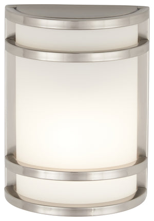 Bay View 1 Light Outdoor Pendant In Brushed Stainless Steel Finish by Minka Lavery 9801-144-PL