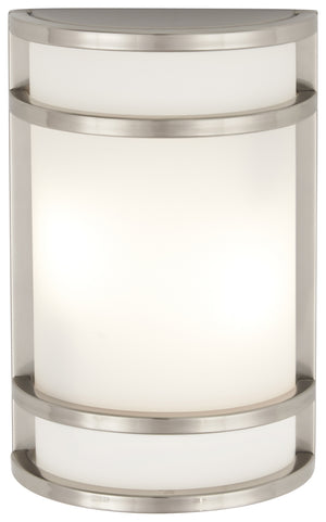 Bay View 1 Light Outdoor Pendant In Brushed Stainless Steel Finish by Minka Lavery 9802-144-PL