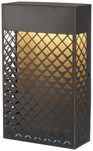 Guild 1 Light Outdoor Led In Matte Gold Finish by Minka Lavery 9851-30-L