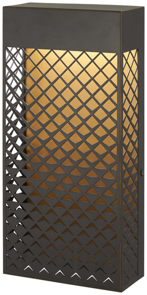 Guild 1 Light Outdoor Led In Matte Gold Finish by Minka Lavery 9852-30-L