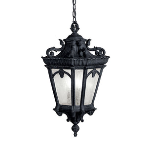 Tournai 3 Light Outdoor Hanging Pendant in Textured Black Finish by Kichler 9855BKT