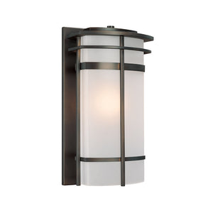 Capital Lighting Lakeshore 9883OB 1 Light Outdoor Wall Lantern in Old Bronze