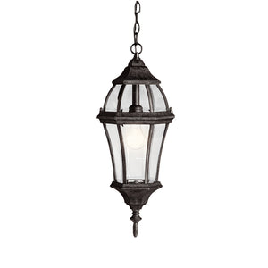Townhouse 1 Light Outdoor Hanging Pendant in Tannery Bronze Finish by Kichler 9892TZ