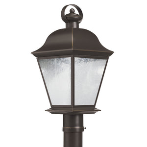 Mount Vernon LED Outdoor Post Lantern in Olde Bronze Finish by Kichler 9909OZLED