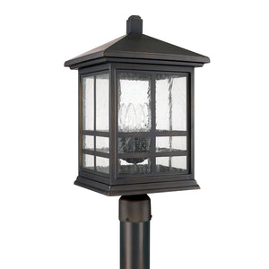Capital Lighting Preston 9915OB 4 Light Post Lantern in Old Bronze