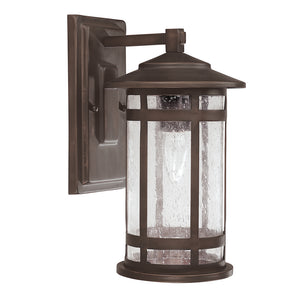 Capital Lighting Mission Hills 9951BB 1 Light Outdoor Wall Fixture in Burnished Bronze