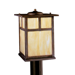 Alameda 1 Light Outdoor Post Lantern in Canyon View Finish by Kichler 9953CV