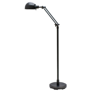Addison Adjustable Oil Rubbed Bronze Pharmacy Floor Lamp
