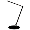 Z-Bar Solo Desk Lamp with power base (USB and AC outlets) (Cool Light; Metallic Black) AR1000-CD-MBK-PWD