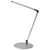 Z-Bar Solo Desk Lamp with hardwire wall mount (Cool Light; Silver) AR1000-CD-SIL-HWS