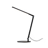 Z-Bar Solo mini Desk Lamp with hardwire wall mount (Cool Light; Metallic Black) AR1100-CD-MBK-HWS