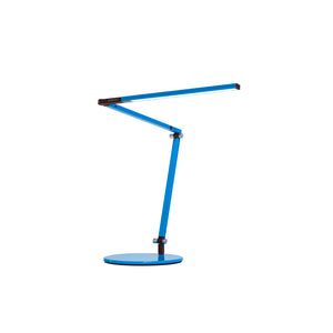 Z-Bar mini Desk Lamp with through-table mount (Warm Light; Blue) AR3100-WD-BLU-THR