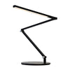 Z-Bar mini Desk Lamp with wireless charging Qi Base (Cool Light; Metallic Black) AR3100-CD-MBK-QCB
