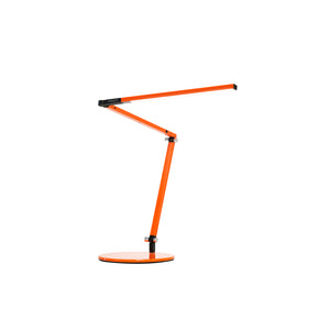 Z-Bar mini Desk Lamp with base (Warm Light; Orange) AR3100-WD-ORG-DSK