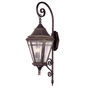 Morgan Hill 3 Light Outdoor Pendant By Troy B1272NR in Natural Rust Finish