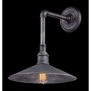 Toledo 1 Light Outdoor Pendant By Troy B2772 in Old Silver Finish