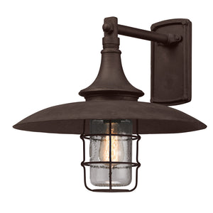 Allegheny 1 Light Outdoor Pendant By Troy B3222 in Centennial Rust Finish