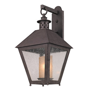 Sagamore 1 Light Outdoor Pendant By Troy B3294 in Centennial Rust Finish