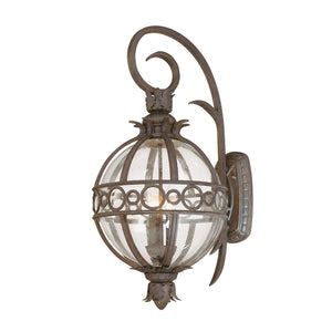 Campanile 3 Light Outdoor Pendant By Troy B5003CB in Campanile Bronze Finish