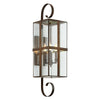 Rutherford 4 Light Outdoor Pendant By Troy B6563NR in Natural Rust Finish