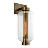 Atwater 1 Light Wall Sconce By Troy B7032 in Vintage Brass Finish