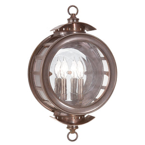 Charleston 2 Light Outdoor Pendant By Troy B9502HB in Heritage Bronze Finish
