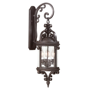 Pamplona 4 Light Outdoor Pendant By Troy BCD9122OBZ in Old Bronze Finish