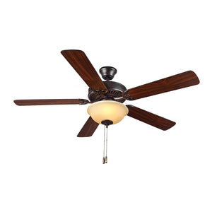 "Homebuilder II 52"" Bronze Indoor Ceiling Fan by Monte Carlo Fans BF2-BZA"