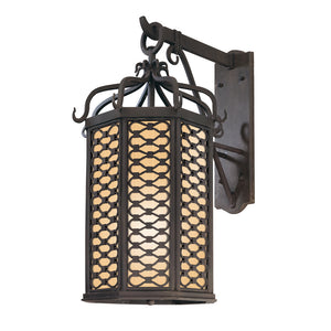 Los Olivos 1 Light Outdoor Pendant By Troy BF2374OI in Old Iron Finish