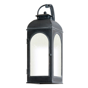 Derby 1 Light Outdoor Pendant By Troy BF3282 in Antique Iron Finish