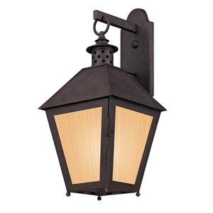 Sagamore 1 Light Outdoor Pendant By Troy BF3293 in Centennial Rust Finish