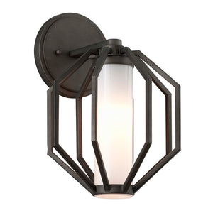 Boundary 1 Light LED Outdoor Pendant By Troy BL4981 in Textured Graphite Finish