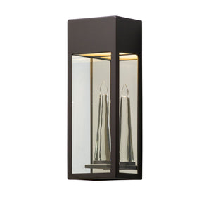 Trousdale 1 Light LED Outdoor Pendant By Troy BL5112 in Bronze Finish