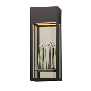 Trousdale 1 Light LED Outdoor Pendant By Troy BL5113 in Bronze Finish