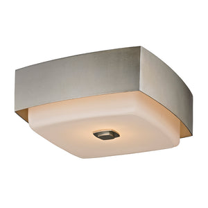 Allure 2 Light Flush Mount By Troy C5672 in Silver Leaf Finish