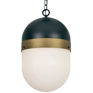 Crystorama CAP-8506-MK-TG Brian Patrick Flynn for Crystorama Capsule Outdoor 3 Light Pendant