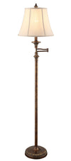 "61"" Barton Swing Arm Floor Lamp"