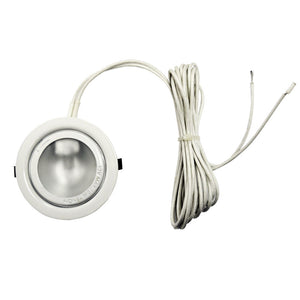 1 Light LED Puck Light in White by Dainolite DLST-99-WH