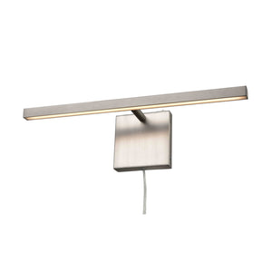 Maud LED 1 Light Plug-In Sconce in Buffed Nickel by DVI Lighting DVP44816BN
