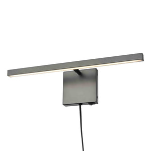Maud LED 1 Light Plug-In Sconce in Graphite by DVI Lighting DVP44816GR