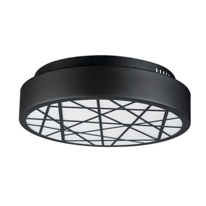 ET2 E20642-61BK Intersect Flush Mount in Black