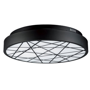 ET2 E20643-61BK Intersect Flush Mount in Black