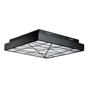 ET2 E20646-61BK Intersect Flush Mount in Black
